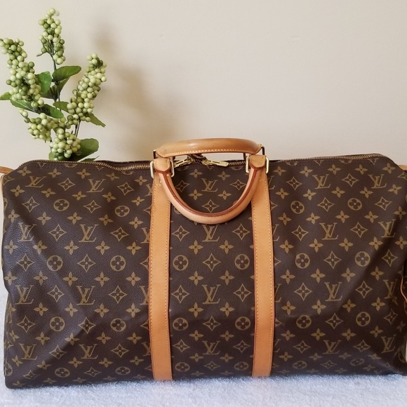 Louis Vuitton Handbags - LV keepall 55 authentic
